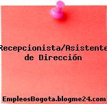 Recepcionista/Asistente de Dirección