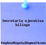 Secretaria ejecutiva bilinge