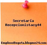 Secretaría Recepcionistacy44