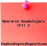 Operario Guadalajara (FT) 3