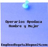 Operarios Apodaca Hombre y Mujer
