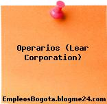 Operarios (Lear Corporation)