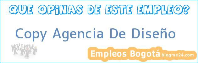 Copy Agencia De Diseño