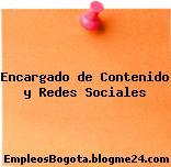 Encargado de Contenido y Redes Sociales