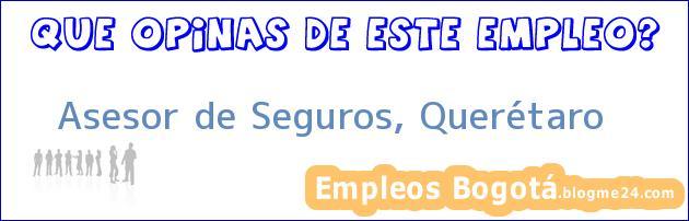 Asesor de Seguros, Querétaro