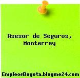 Asesor de Seguros, Monterrey