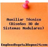 Auxiliar Técnico (Diseños 3D de Sistemas Modulares)
