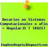Becarios en Sistemas Computacionales o afin – AngularJS | (K621)