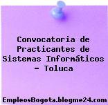 Convocatoria de Practicantes de Sistemas Informáticos – Toluca