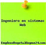 Ingeniero en sistemas Web