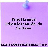 Practicante Administración de Sistema