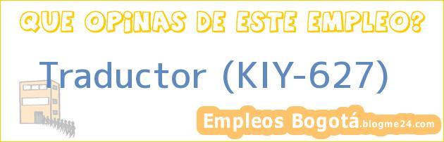 Traductor (KIY-627)