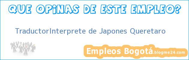 TraductorInterprete de Japones Queretaro