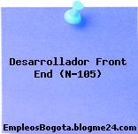 Desarrollador Front End (N-105)