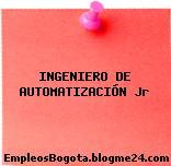 INGENIERO DE AUTOMATIZACIÓN Jr