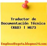 Traductor de Documentación Técnica (R&D) | W673