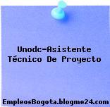 Unodc-Asistente Técnico De Proyecto