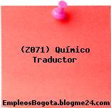 (Z071) Químico Traductor