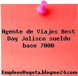 Agente de Viajes Best Day Jalisco sueldo base 7000