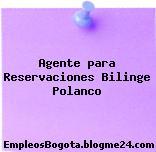 Agente para Reservaciones Bilinge Polanco