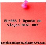 EW-086   Agente de viajes BEST DAY