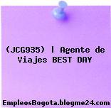 (JCG935) | Agente de Viajes BEST DAY