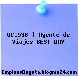 UC.538 | Agente de Viajes BEST DAY