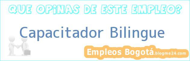Capacitador Bilingue