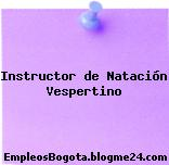 Instructor de Natación Vespertino
