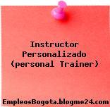 Instructor Personalizado (personal Trainer)