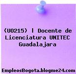 (UO215) | Docente de Licenciatura UNITEC Guadalajara